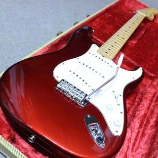 Fender Custom Shop 1966 Stratocaster N.O.S. Candy Apple Red 2007年製 です