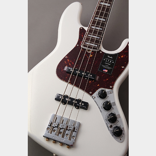 Fender USA American Ultra Jazz Bass -Arctic Pearl/Rosewood- 【NEW】