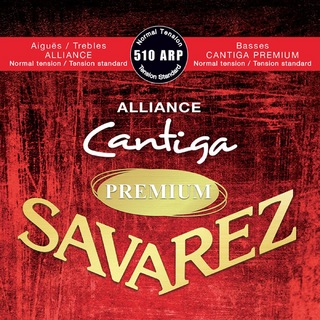 SAVAREZ 510 ARP Normal tension ALLIANCE / Cantiga PREMIUM クラシックギター弦×6セット