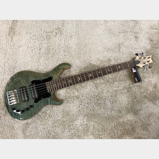 Paul Reed Smith(PRS) Grainger 5-String Bass Aquabluex 10top w/Pickguard 【アウトレット特価】【2014年製】【5弦ベース】