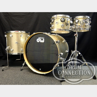 "dw【NEWカラー‼】Collector's Maple 4pcs Set ""Nickel Sparkle Glass""【タムスタンド付属‼】"