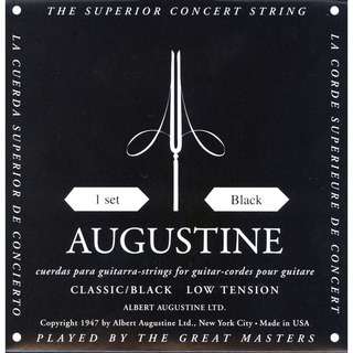 AUGUSTINE Classic Black Regular Trebles Low Tension Basses 28-43.5【WEBSHOP】