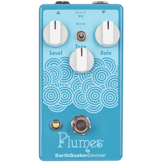 Earth Quaker Devices Earth Quaker Devices Plumes Aqua Blue【田渕ひさ子とのコラボレーションカラー!!】