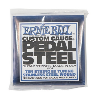 ERNIE BALL 2504 Pedal Steel 10-String E9 Tuning Stainless Steel Wound ペダルスチールギター弦
