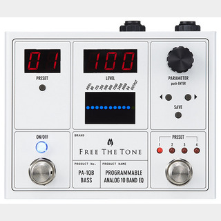 Free The TonePA-1QB [PROGRAMMABLE ANALOG 10 BAND EQ/ベース用] 【即納可能】