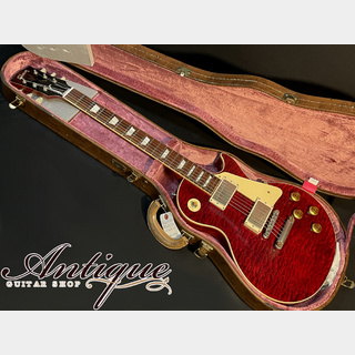 "Gibson Custom Shop M2M 1959 Les Paul Standard 2017 Royal Crimson w/3A Quilt Lightly Aged H-Select 3.77kg ""Dead Stock"""