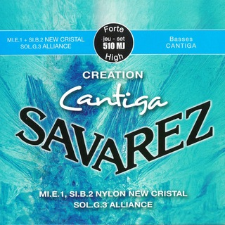 SAVAREZ 510MJ CREATION Cantiga High tension SET クラシックギター弦