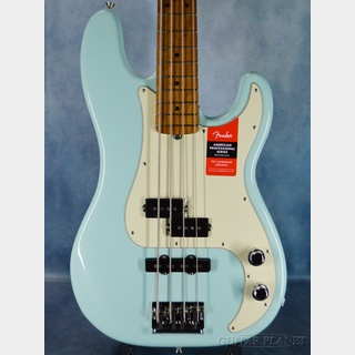 Fender Limited Edition American Professional PJ Bass Roasted Maple Neck-Daphne Blue- 【4.19kg】