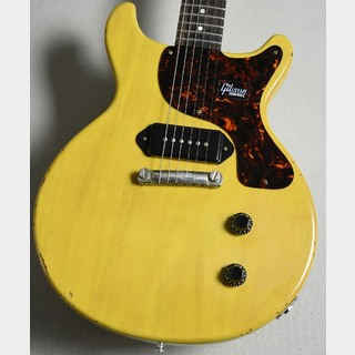 Gibson Custom Shop 【動画有り】JP LTD 1959 Les Paul Junior Double Cut Bright TV Yellow Slight Light Aged s/n 983271