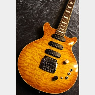 Kz Guitar Works Kz One Semi-Hollow 3S23 Kahler VOS Lemon Burst #20190135【キューバンマホ】【良音ハカランダ指板】