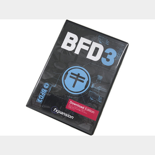 fxpansion BFD3 (Download) ◆ [ダウンロード版][ドラム音源]【台数限定特価】