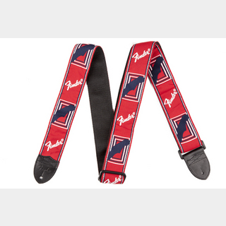 FenderMonogram Strap Red/White/Blue 【心斎橋店】