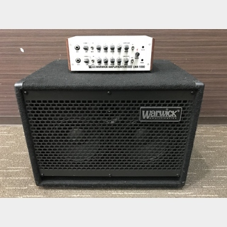 Warwick LWA 1000 Silver & WCA 208 LW Cabinet 【アウトレット特価】