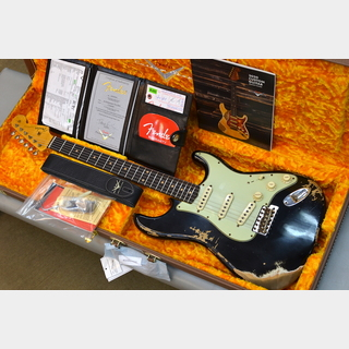 Fender Custom Shop 2020 Custom Collection 1960 Stratocaster Heavy Relic ~Aged Black~ #CZ547490 【3.55kg】