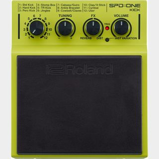 "Roland 【新製品】SPD::ONE ""KICK"" Percussion Pad【送料無料】"
