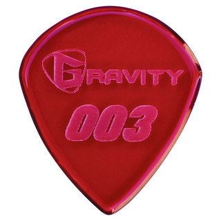 Gravity Guitar Picks G003P 003 Standard 1.5mm Red ピック