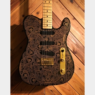 Fender James Burton Telecaster 1990 1st year BLK/GOLD Paisley
