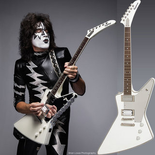 "Epiphone Limited Edition Tommy Thayer ""White Lightning"" Explorer Outfit"
