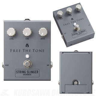 Free The Tone SS-1V STRING SLINGER OVERDRIVE 【即納可能】【送料無料】【Black Face系】