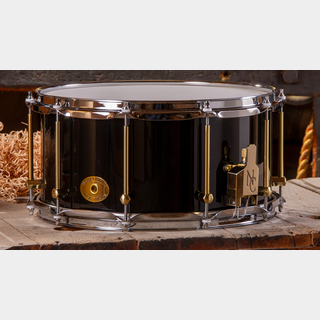 "NO BRAND SS Classic Solid Maple 14"" × 7"" [Black Gloss]"