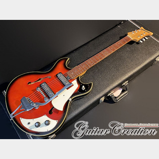 Teisco EP-2T #REDSUNBURST 1968年製【VERY CUTE】2.12kg
