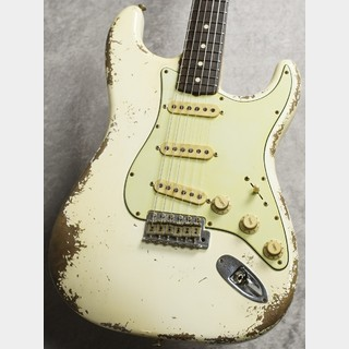 Fender Custom ShopMaster Built 1959 Stratocaster Relic -Aged Olympic White- by Vincent Van Trigt [3.45kg]