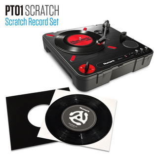 NumarkPT01 Scratch SCRATCH RECORD SET【Stayhomeにおすすめ】