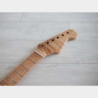 Custom Parts 1-Piece Flame Maple Stratocaster Neck