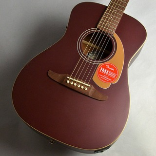 FenderMalibu Player/Burgundy Satin エレアコギター