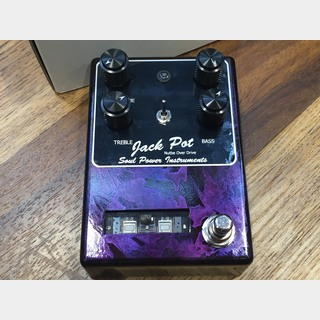 Soul Power InstrumentsJACK POT(Viper) Wrapped Purple NutubeOverDrive/ 真空管オーバードライブ