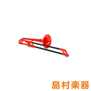 pTrumpetpBone MINI Red レッド プラスチック トロンボーン