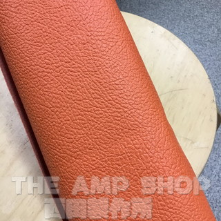 "MOJO TONE British Style Orange Levant Tolex 54"" Wide"