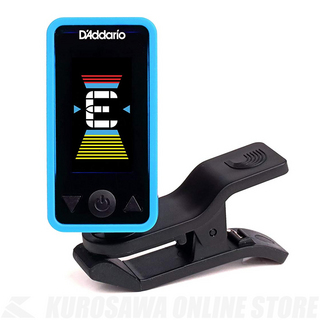 D'Addario Planet Waves Eclipse Tuner PW-CT-17 BU( クリップチューナー)