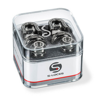 Schaller Strap Lock System S-Locks #14010601/Ruthenium