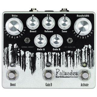 Earth Quaker Devices Palisades Mega Ultimate Overdrive 【11月23日発売予定】
