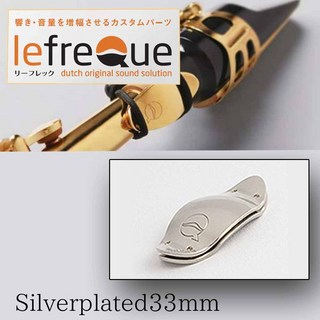 LefreQue Silver Plated 33mm