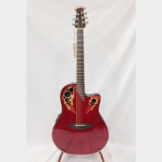 Ovation Celebrity Elite CE44-RR Ruby Red 【展示処分特価】