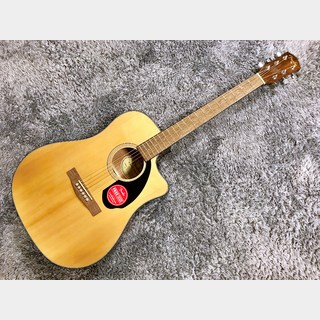 Fender AcousticsCD-60SCE Dreadnought Natural【2020年製】【エレアコ】
