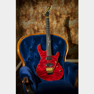 "Ruokangas Guitars Hellcat Deluxe ""Ruby Red"" #086"