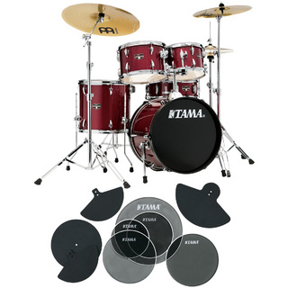 Tama IE58H6HC-CPM IMPERIALSTAR ドラムセット 18BD コンパクトサイズ サイレントパック付き 【WEBSHOP】