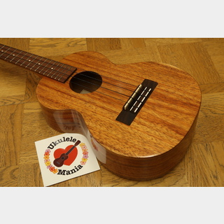 Kamaka HF-3 Hawaiian Curly Koa Tenor Ukulele #3991