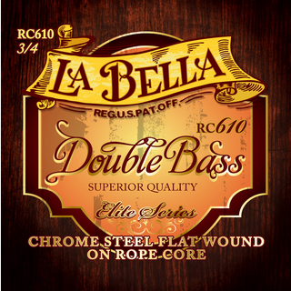 "La Bella RC610 ""Chrome Rope Core""[Double Bass Set]"