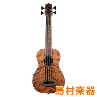 KALA UBASS-EM-FL ウクレレベース EXOTIC MAHOGANY FRETLESS ACOUSTIC-ELECTRIC U BASS