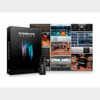 NATIVE INSTRUMENTS KOMPLETE 11 SELECT 【送料無料!】