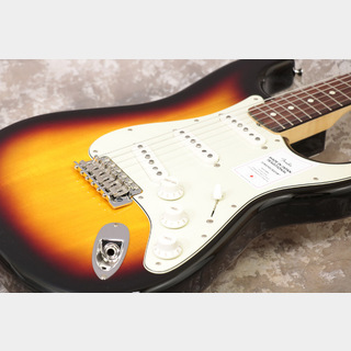 Fender Made in Japan Traditional 60s Stratocaster Rosewood 3-Color Sunburst【3.04kg軽量個体】【池袋店】