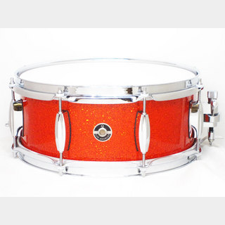 "Q Drum.Co 【中古品】Maple 10ply 13""x5.5"" Tangerine Sparkle M10-1355 TS"
