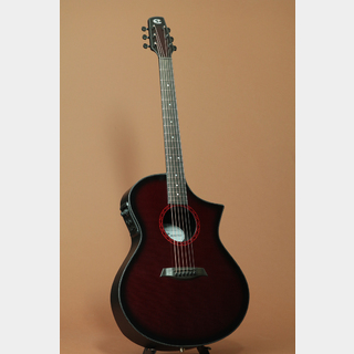 Composite acoustics GX Wine Red Burst Narrow