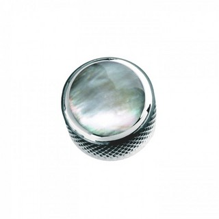 Q-PartsDOME KNOB TYPE [KCD-0020 / Green Pearl Shell in Chrome] 【展示品処分特価】