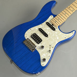 T's Guitars DSTC-22/Ash/Maple  Trans Blue (S/N:031216)