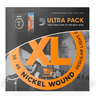 D'Addario EXL110/NYXL1046 Ultra Pack [Light 010-046] 【超お買得!!】